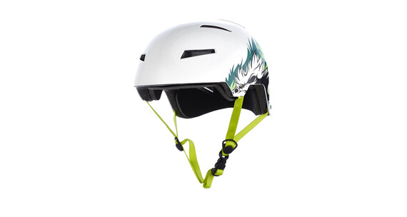 Kali Raja Helm Jungle white/green